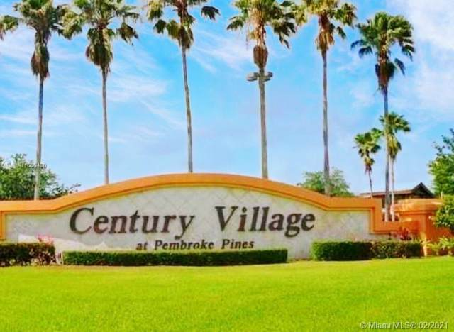 13455 SW 3rd St 205S, Pembroke Pines, FL 33027 (MLS #A11000420) :: The Teri Arbogast Team at Keller Williams Partners SW