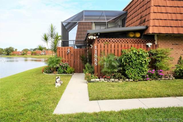 11885 SW 12th Pl #162, Davie, FL 33325 (MLS #A11001160) :: Berkshire Hathaway HomeServices EWM Realty