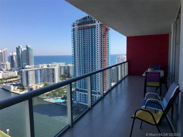 2602 E Hallandale Beach Blvd #3210, Hallandale Beach, FL 33009 (#A11001219) :: Posh Properties
