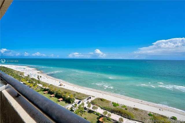 2555 Collins Ave #2207, Miami Beach, FL 33140 (MLS #A11001305) :: KBiscayne Realty