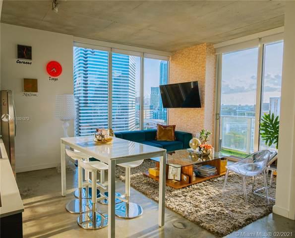 151 SE 1st St #1811, Miami, FL 33131 (MLS #A11001373) :: Berkshire Hathaway HomeServices EWM Realty