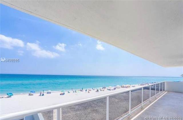 3725 S Ocean Dr #301, Hollywood, FL 33019 (MLS #A11001457) :: Castelli Real Estate Services