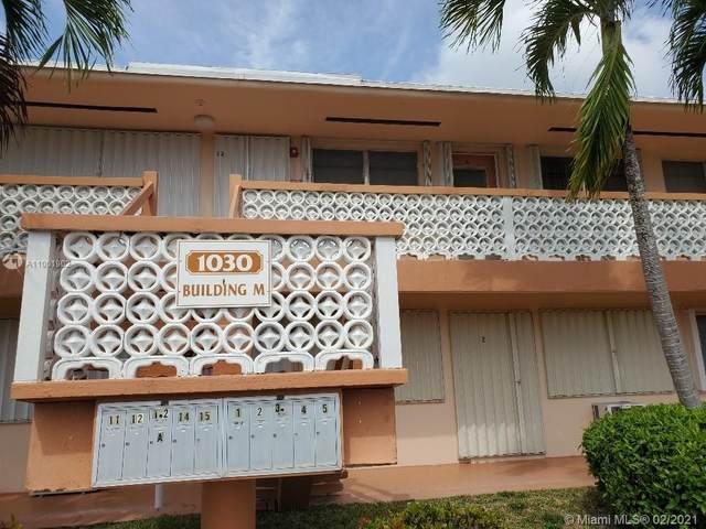 1030 SW 11th St 12M, Hallandale Beach, FL 33009 (MLS #A11001902) :: GK Realty Group LLC