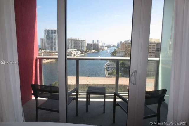 2602 E Hallandale Beach Blvd #1205, Hallandale Beach, FL 33009 (#A11002468) :: Posh Properties