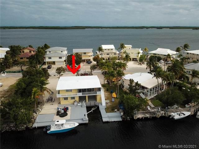 600 Island Dr, Key Largo, FL 33037 (MLS #A11002501) :: The Howland Group