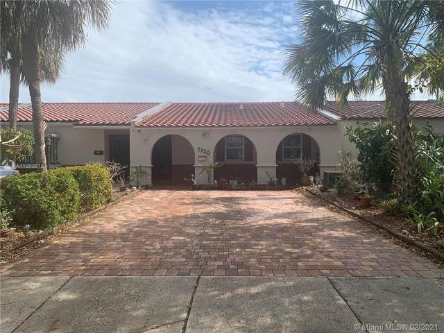 7120 Laurel Ln #7120, Miami Lakes, FL 33014 (MLS #A11002918) :: Prestige Realty Group
