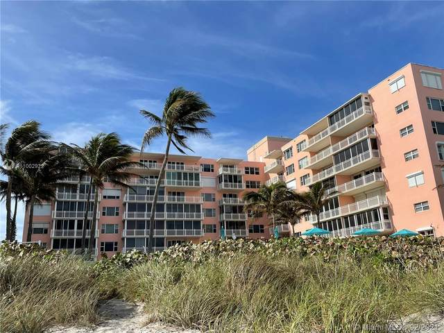 2921 S Ocean Blvd G1, Highland Beach, FL 33487 (MLS #A11002922) :: The Riley Smith Group