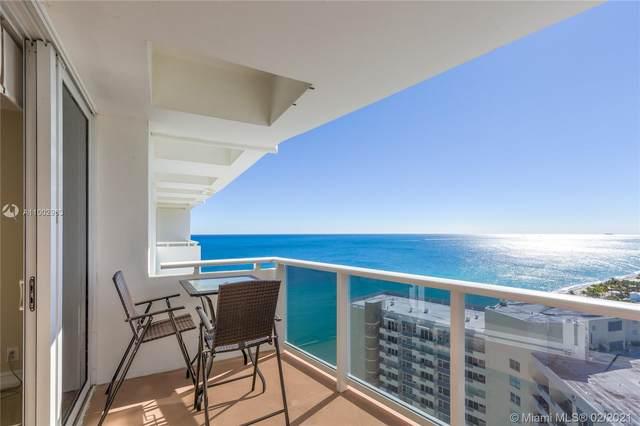 3140 S Ocean Dr Ph1, Hallandale Beach, FL 33009 (MLS #A11002963) :: Search Broward Real Estate Team