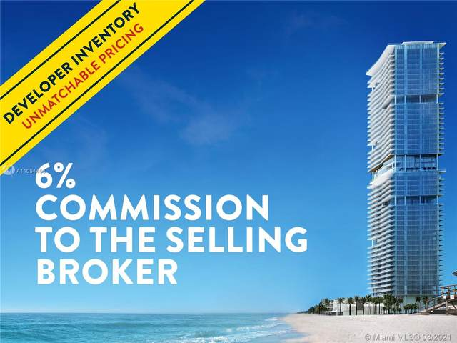 18501 Collins Ave #3903, Sunny Isles Beach, FL 33160 (MLS #A11004403) :: The Riley Smith Group