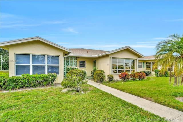 5392 Lakefront Blvd B, Delray Beach, FL 33484 (MLS #A11004851) :: Green Realty Properties