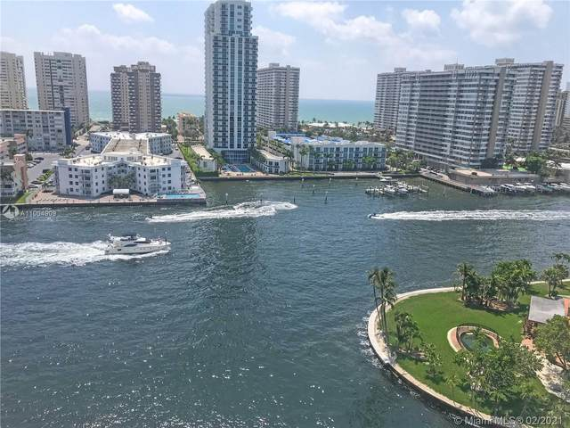 137 Golden Isles Dr #1502, Hallandale Beach, FL 33009 (MLS #A11004909) :: The Riley Smith Group