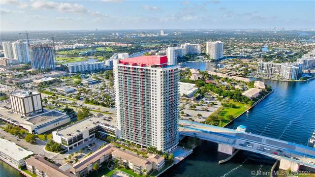 2602 E Hallandale Beach Blvd R710, Hallandale Beach, FL 33009 (#A11005195) :: Posh Properties