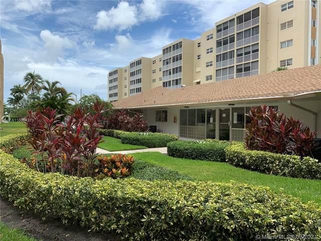 320 NE 12th Ave #602, Hallandale Beach, FL 33009 (MLS #A11005421) :: Green Realty Properties