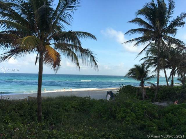 1985 S Ocean Dr 4C, Hallandale Beach, FL 33009 (MLS #A11005702) :: Search Broward Real Estate Team