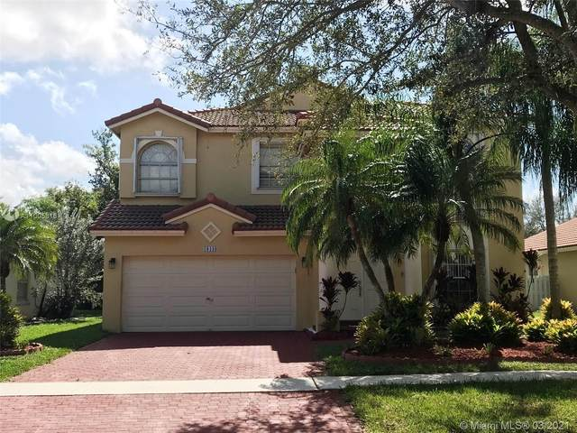 18448 NW 9th St, Pembroke Pines, FL 33029 (MLS #A11005816) :: Laurie Finkelstein Reader Team