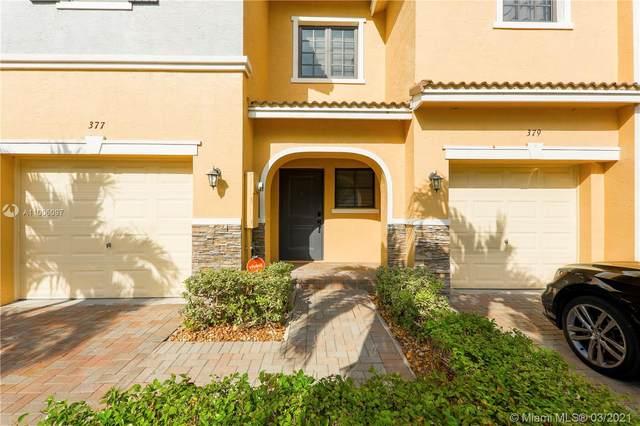 377 NE 194th Ter, Miami, FL 33179 (MLS #A11006097) :: The Rose Harris Group