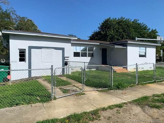 8201 NW 4th Ave, Miami, FL 33150 (#A11006125) :: Posh Properties