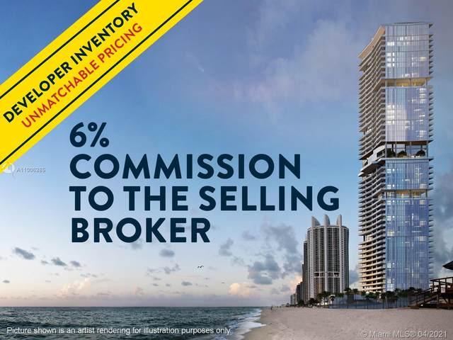 18501 Collins Ave #4703, Sunny Isles Beach, FL 33160 (MLS #A11006285) :: Miami Villa Group