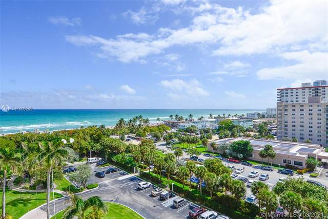 1201 S Ocean Dr 912S, Hollywood, FL 33019 (MLS #A11006292) :: Prestige Realty Group