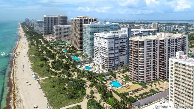 10175 Collins Ave #807, Bal Harbour, FL 33154 (MLS #A11006422) :: Carlos + Ellen