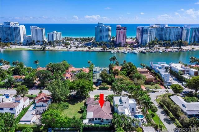 5310 Pine Tree Dr, Miami Beach, FL 33140 (MLS #A11006496) :: Berkshire Hathaway HomeServices EWM Realty