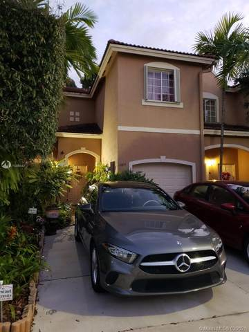 14844 SW 9th Ln, Miami, FL 33194 (MLS #A11006540) :: Berkshire Hathaway HomeServices EWM Realty