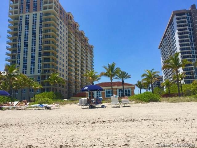 2080 S Ocean Dr #303, Hallandale Beach, FL 33009 (MLS #A11006611) :: The Riley Smith Group