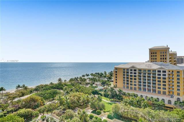 430 Grand Bay Dr #1205, Key Biscayne, FL 33149 (MLS #A11006787) :: The Paiz Group