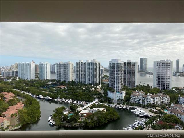 1000 W Island Blvd #2907, Aventura, FL 33160 (MLS #A11006823) :: Green Realty Properties