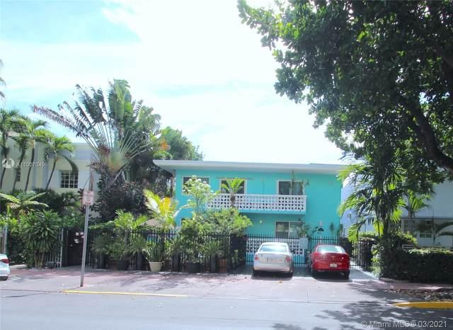 1035 Meridian Ave #11, Miami Beach, FL 33139 (MLS #A11007040) :: Castelli Real Estate Services