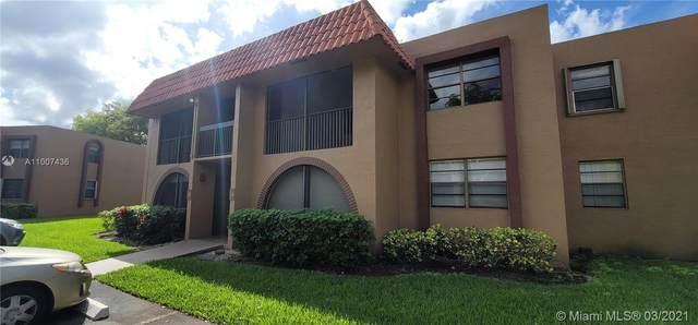 8632 NW 34th Pl C102, Sunrise, FL 33351 (MLS #A11007436) :: Berkshire Hathaway HomeServices EWM Realty