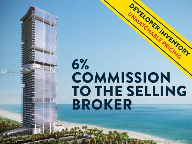 18501 Collins Ave #4104, Sunny Isles Beach, FL 33160 (MLS #A11007703) :: The Riley Smith Group