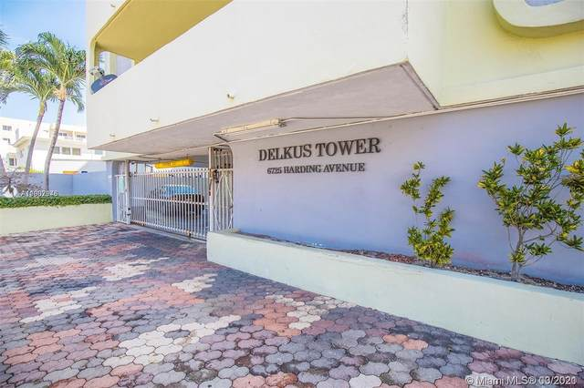 6725 Harding Ave #306, Miami Beach, FL 33141 (MLS #A11007946) :: Berkshire Hathaway HomeServices EWM Realty