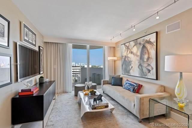 1621 Bay Rd #1005, Miami Beach, FL 33139 (MLS #A11008456) :: Berkshire Hathaway HomeServices EWM Realty