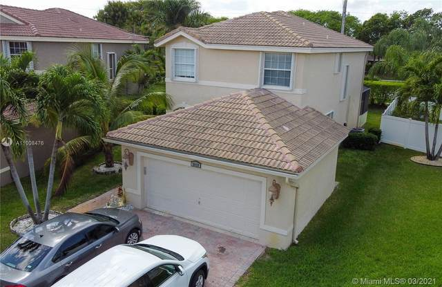 2018 Sw 159 Terrace, Miramar, FL 33027 (#A11008476) :: Posh Properties