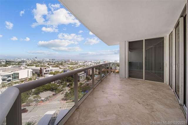 400 Alton Rd #1705, Miami Beach, FL 33139 (MLS #A11008498) :: Re/Max PowerPro Realty