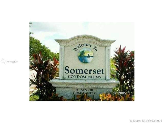 2840 Somerset Dr 101M, Lauderdale Lakes, FL 33311 (MLS #A11008627) :: Re/Max PowerPro Realty