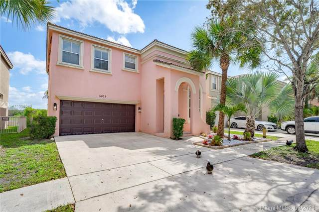 5035 SW 155th Ave, Miramar, FL 33027 (MLS #A11008688) :: Berkshire Hathaway HomeServices EWM Realty