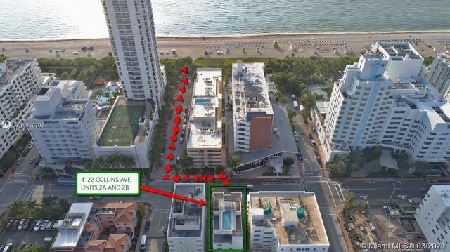 4122 Collins Ave 3A, Miami Beach, FL 33140 (MLS #A11008703) :: Equity Advisor Team