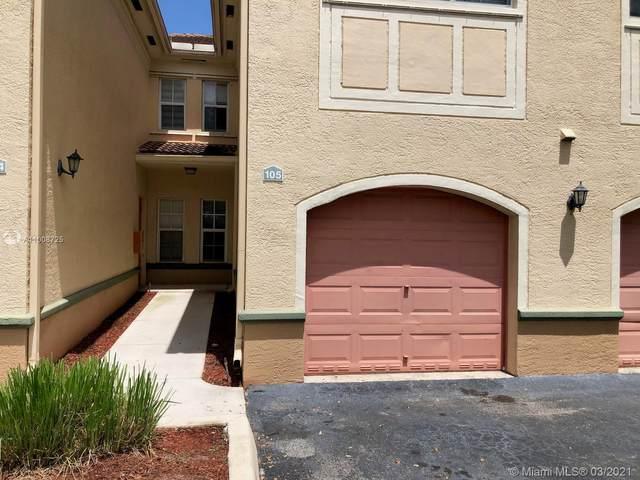 2581 Centergate Drive #105, Miramar, FL 33025 (MLS #A11008725) :: Green Realty Properties