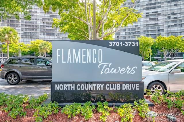 3701 N Country Club Dr #805, Aventura, FL 33180 (MLS #A11008952) :: Berkshire Hathaway HomeServices EWM Realty