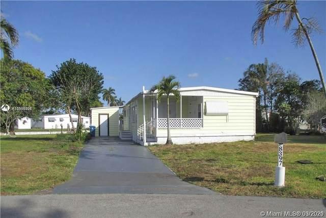 8397 SW 21st Ct, Davie, FL 33324 (#A11009026) :: Posh Properties