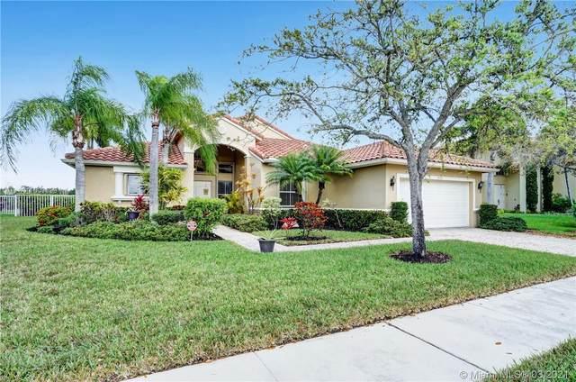 19135 SW 8th St, Pembroke Pines, FL 33029 (MLS #A11009099) :: Green Realty Properties