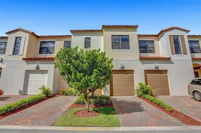 20975 NW 1st Ct, Pembroke Pines, FL 33029 (MLS #A11009215) :: Berkshire Hathaway HomeServices EWM Realty