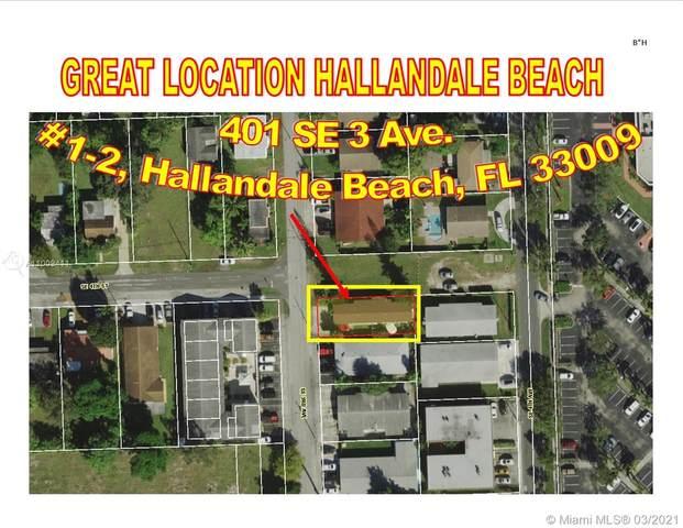 401 SE 3rd Ave, Hallandale Beach, FL 33009 (MLS #A11009411) :: The Teri Arbogast Team at Keller Williams Partners SW