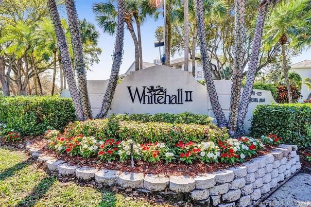 1707 Whitehall Dr #106, Davie, FL 33324 (MLS #A11009478) :: Natalia Pyrig Elite Team | Charles Rutenberg Realty