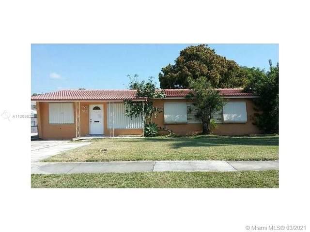 901 NE 6th St, Hallandale Beach, FL 33009 (MLS #A11009528) :: Green Realty Properties