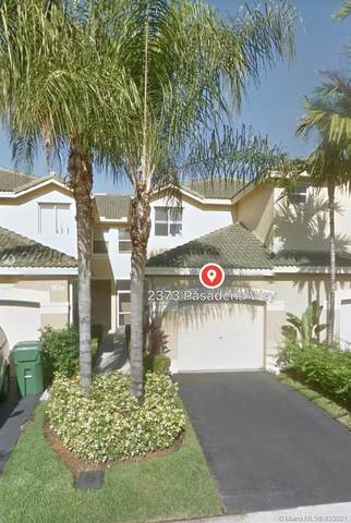2373 W Pasadena Way #2373, Weston, FL 33327 (MLS #A11009847) :: Green Realty Properties