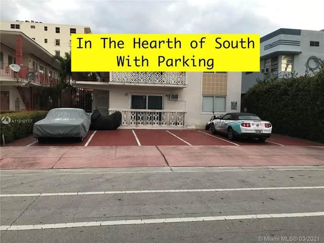 719 Euclid Ave #12, Miami Beach, FL 33139 (#A11010177) :: Posh Properties