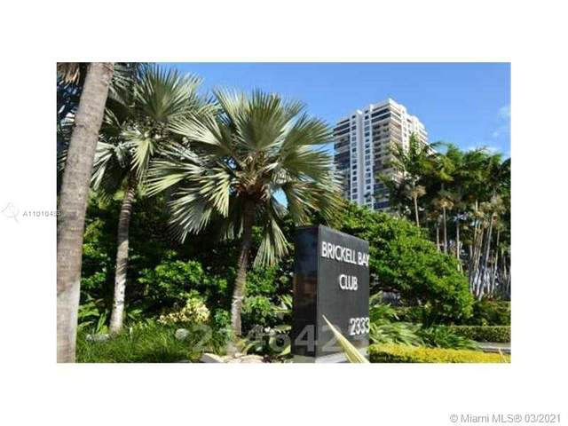 2333 Brickell Ave #2507, Miami, FL 33129 (MLS #A11010498) :: Prestige Realty Group